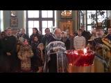 Храм Илии пророка на Пороховых. Торжество Православия. 1 марта 2015 года.