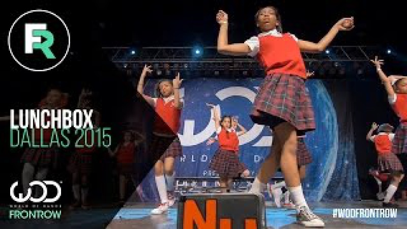 Lunchbox Dance Crew | 1st Place Youth Div | FRONTROW | World of Dance Dallas 2015 WODDALLAS2015