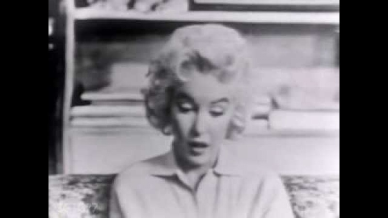 Marilyn Monroe Rare Live Television Appearance Person To Person Interview 1955