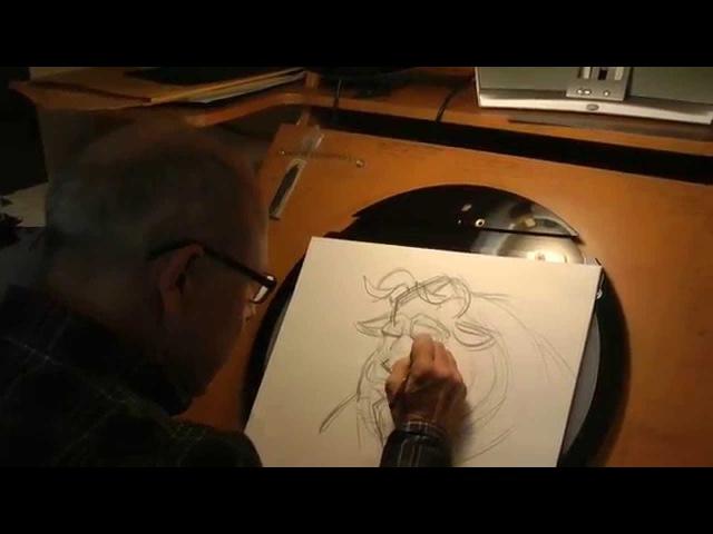 Glen Keane Draws The Beast
