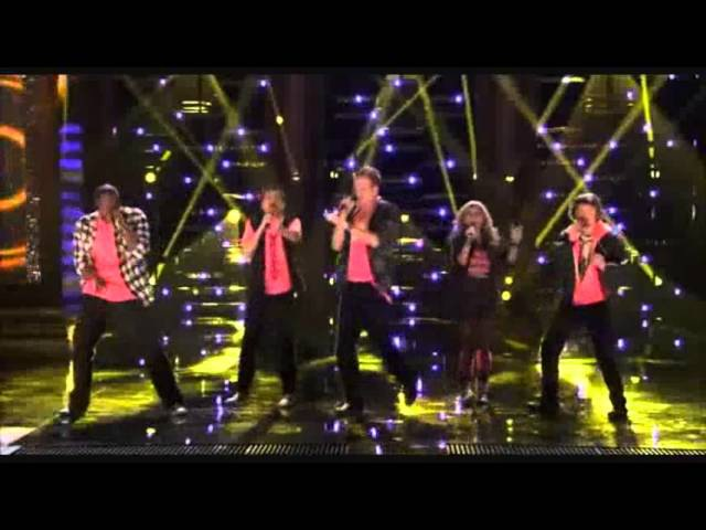 1st Performance - Pentatonix - ET by Katy Perry Ft Kanye West - Sing Off - Series 3