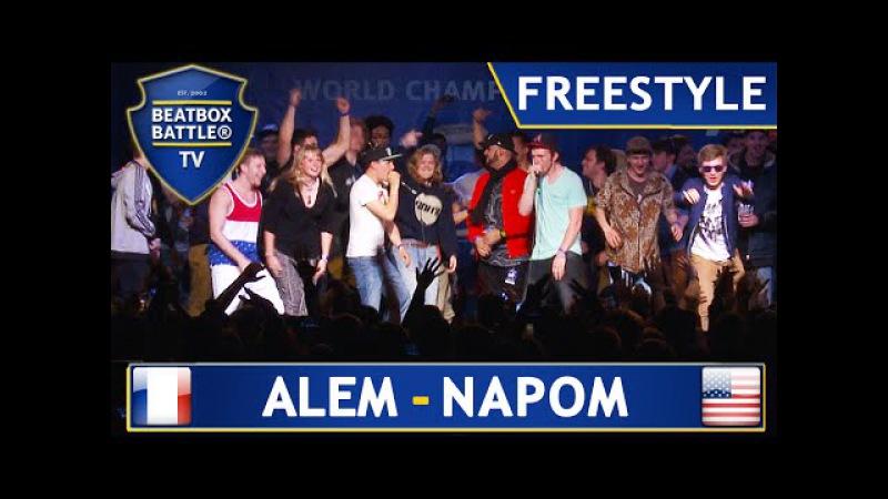 Alem Napom - Winner Freestyle - 4th Beatbox Battle World Championship