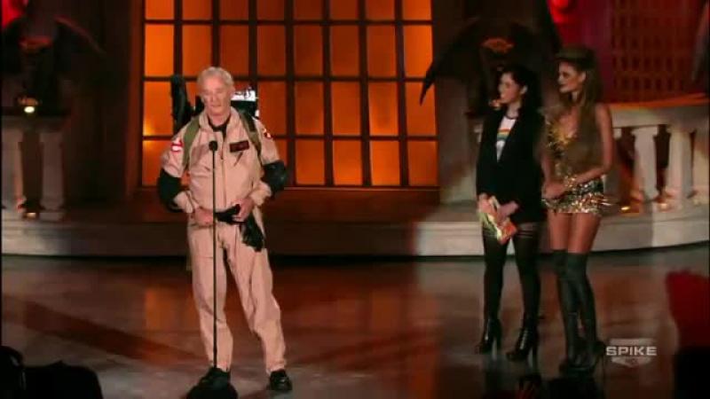 Bill Murray's Acceptance Speech_ Scream Awards 2010