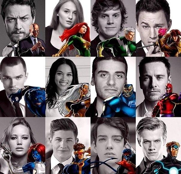 X men movie cast