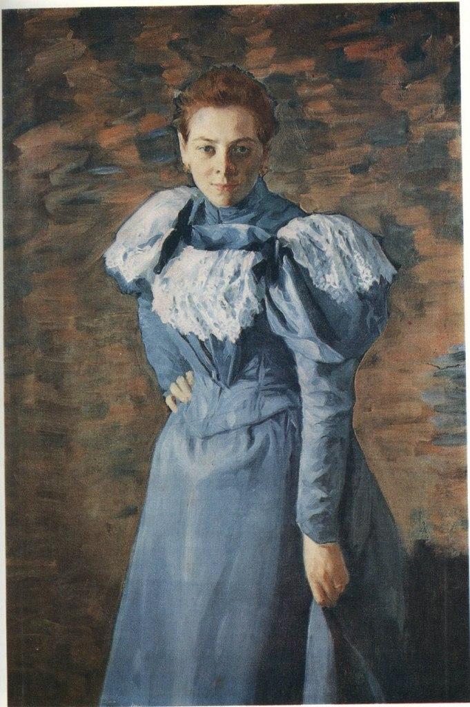 Художник Куликов Иван Семенович 13 апреля 1875 — 15 декабря 1941 Надя (Портрет сестры), 1909