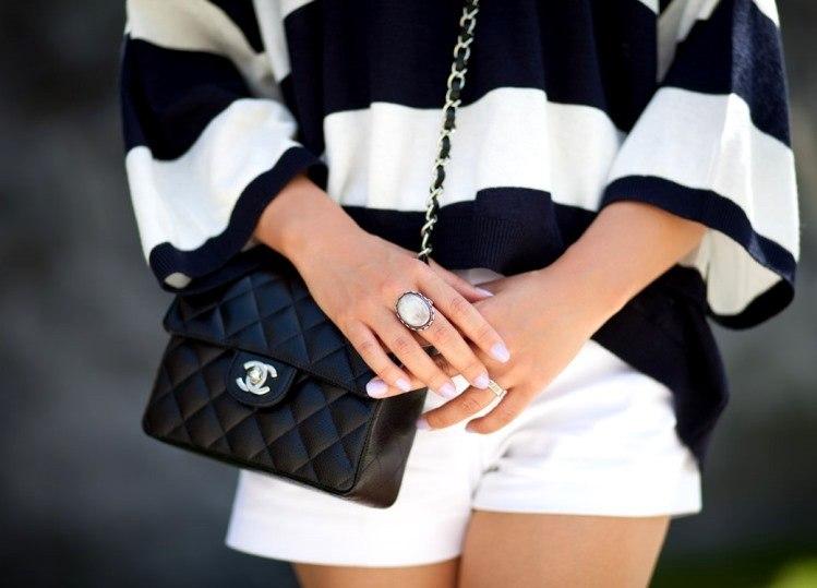 Легендарная сумочка на цепочке от Chanel давно стала классикой.