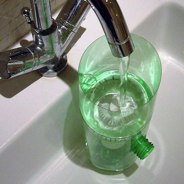 Фильтр для воды своими руками из пластиковой бутылки