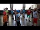 Дети учат хип хоп и брейк данс детский лагерь Тимсофт