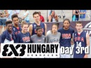 2015 FIBA 3x3 U18 World Championships Hungary Debrecen Day 3 rd