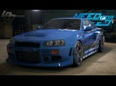 NEED FOR SPEED (2015) - NISSAN SKYLINE GT-R R34 GAMEPLAY (TUNING, COP CHASE, DRIFTING, RACES)