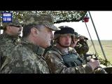 Порошенко посетил учебный полигон Учения под Николаевом Новости Украины Сегодня War in Ukraine