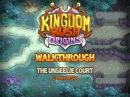 Kingdom Rush Origins Walkthrough The Unseelie Court stg11 Campaign Veteran
