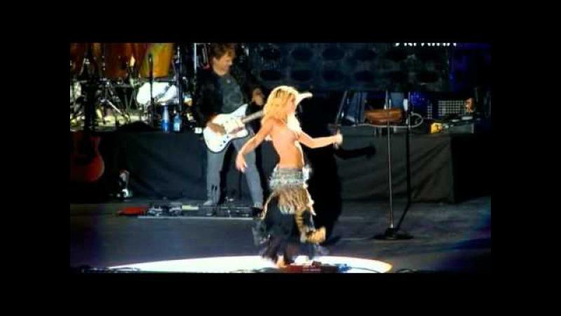 Shakira Танец живота Ojos-asi - Live in Kiev 08/10/2011