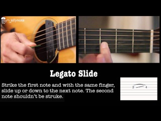 How to read tab - Slide - Beginner guitar lessons