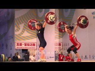 48kg Comparison - Sibel Özkan (Turkey, 82kg) v Genny Pagliaro (Italy, 81kg)