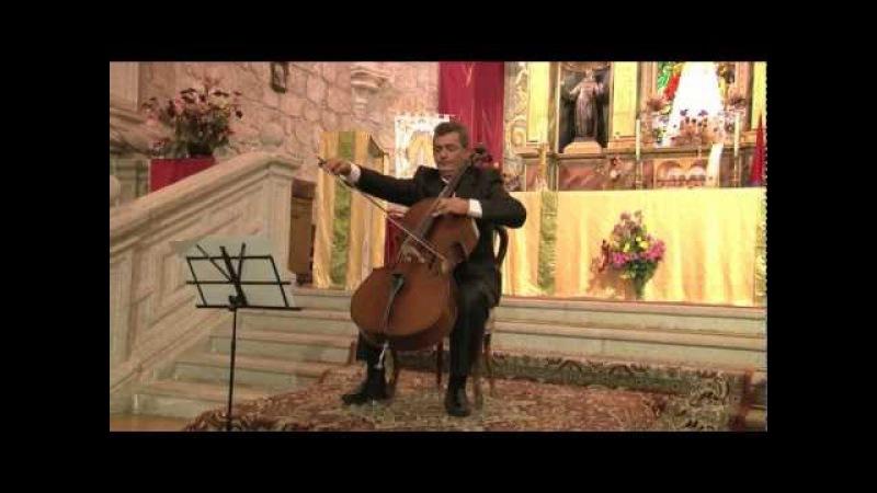 03 Ave María de G. Caccini. A. Antonian (cello) y J.A. Álvarez Parejo (piano)