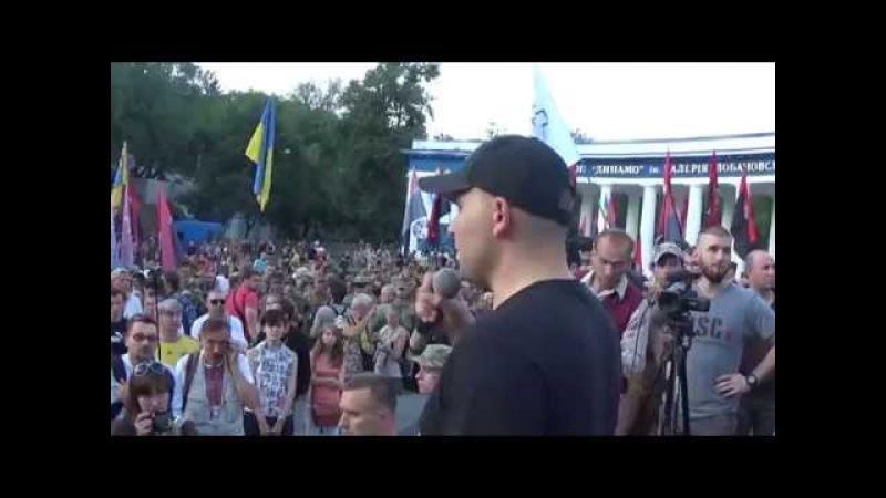 Хода добровольчих батальйонів на честь перемоги Святослава