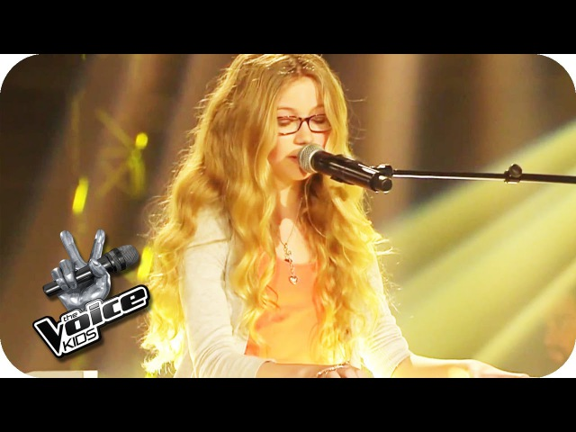 Alexa Feser Wir sind hier (Cosma) | The Voice Kids 2015 | Blind Auditions | SAT.1