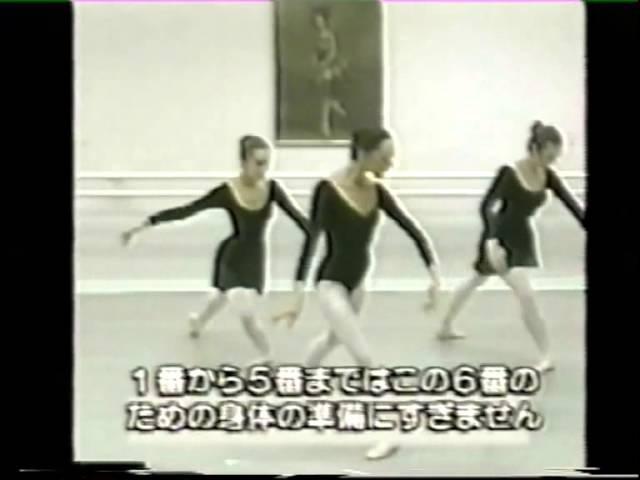 Galina Mezentseva. Classical Ballet Lesson. Port de bras 1, 2, 3, 4, 5, 6.