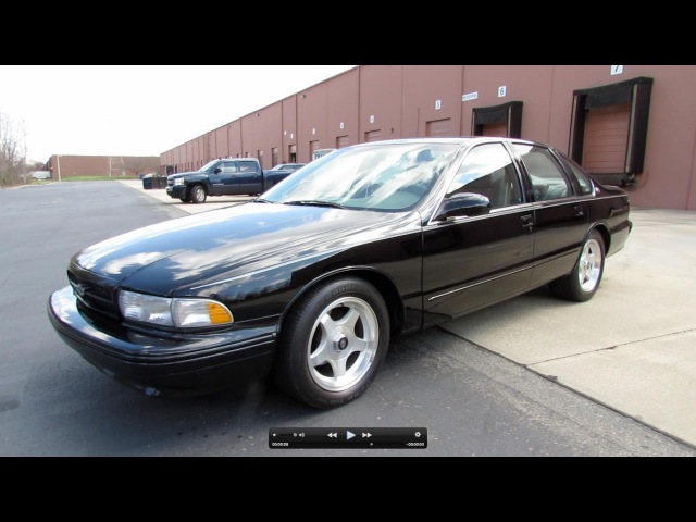 1996 Chevrolet Impala SS Start Up, Exhaust, and In Depth Review