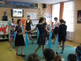танец под песню синий платочек
