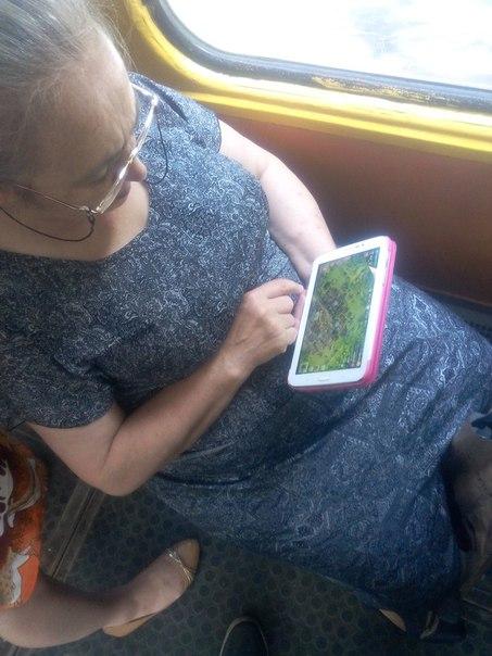 #Волгоград #трамвай #бабушка #