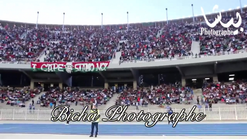 MCA VS USMH Les supporters MCA au stade 5 juillet 28-09-2015