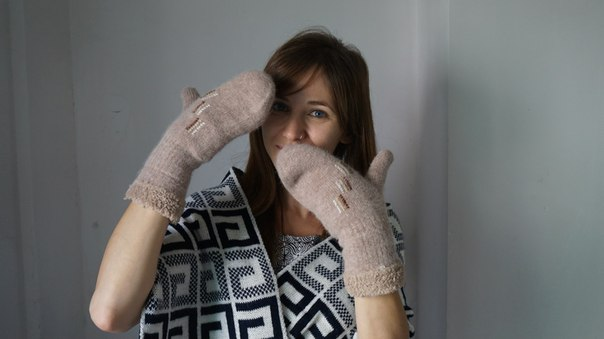 Banggood: Комплект из шарфика и варежек - готовимся к зиме