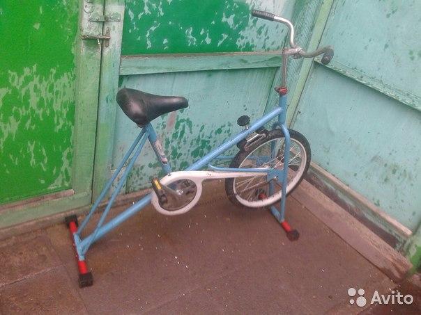 Как сделать велотренажер из велосипеда в домашних 213