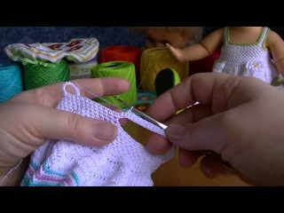 Искусство вязания крючком для кукол