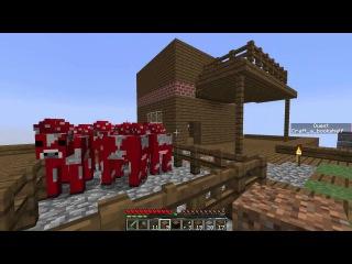 ДОМ НА ДЕРЕВЕ - Minecraft Skyway Island Survival 06