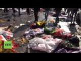 Turquie : plus de 30 morts dans deux explosions lors d'une manifestation pro-kurde à Ankara