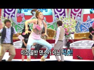 【TVPP】Minah(Girl's Day) - Challenge! Zinger Dance, 민아(걸스데이) - 도전! 징거댄스 @ Flowers