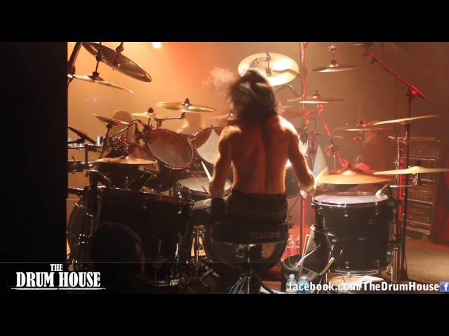 Satyricon (Frost) - 'Drum solo Now, Diabolical' live drum cam