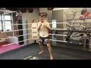 Нырки в боксе удары по корпусу и голове Тренировка с использованием веревки от