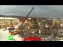 В Хабаровском крае из-за взрыва газа рухнул дом видео с места происшествия