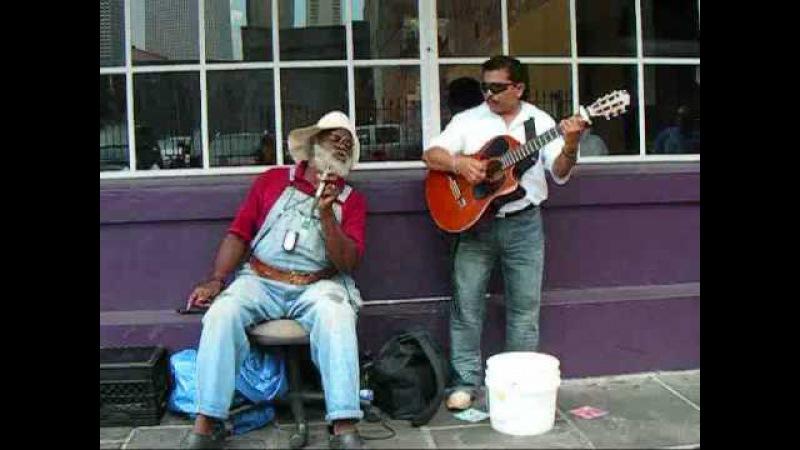 Grandpa Elliot Oscar Castro - Only You - New Orleans Street Music