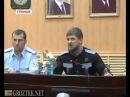 Кадыров с переводом Супер совещание Вы будите моими личными врагами!