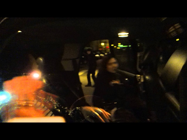 【G-DRAGON ♕】WAVED AT FANS @ SAINT LAURENT † YSL † SHOW IN PARIS by MinVIPELF ® GD 2015 150125