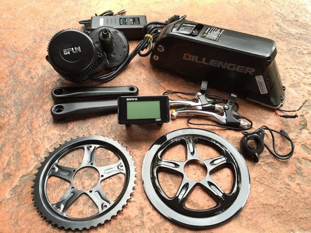 Dillenger Bafang Mid Drive Electric Bike Kit in for Review | Electric Bike Report