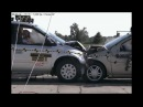 2005 Chrysler Town & Country Vs. 2002 Ford Focus NHTSA Full Frontal Impact
