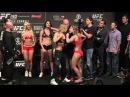 UFC 190: Ronda Rousey vs. Bethe Correia Weigh-in Faceoff