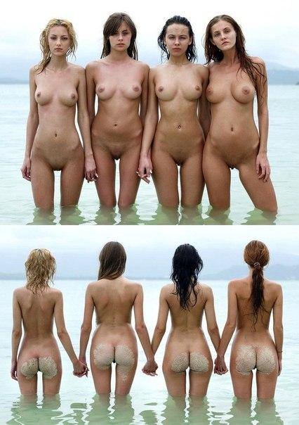 фото голых девушек спереди