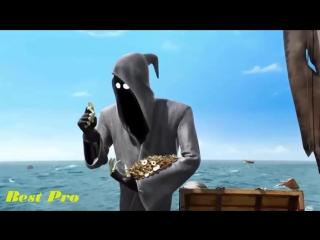 Pixar Animation Movies - Funny death sails - Full HD cartoon - Короткометражный мультфильм