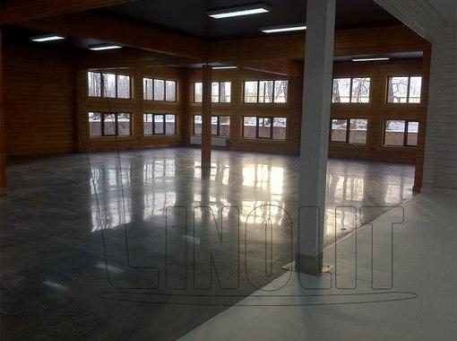 бетонные промышленные полы фото