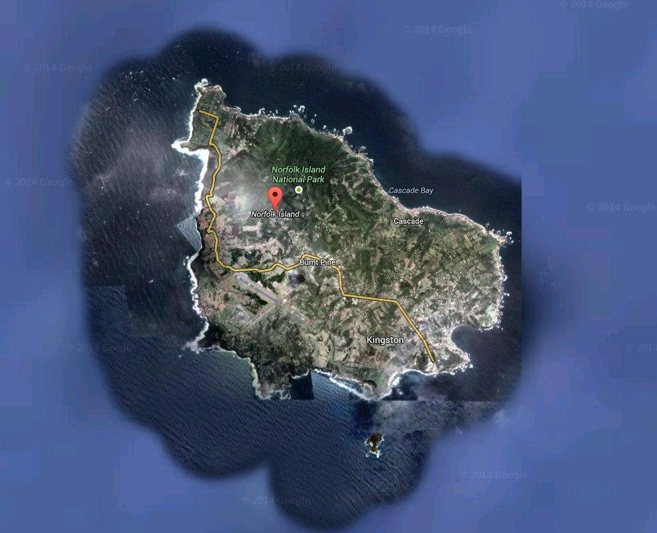Остров Норфолк