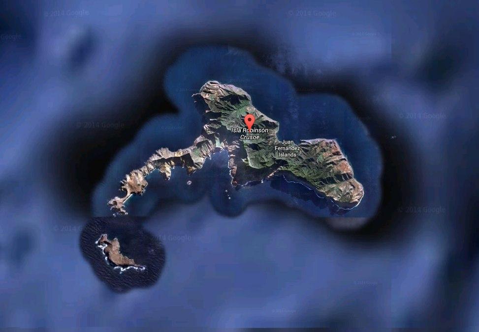 Остров Робинзон-Крузо