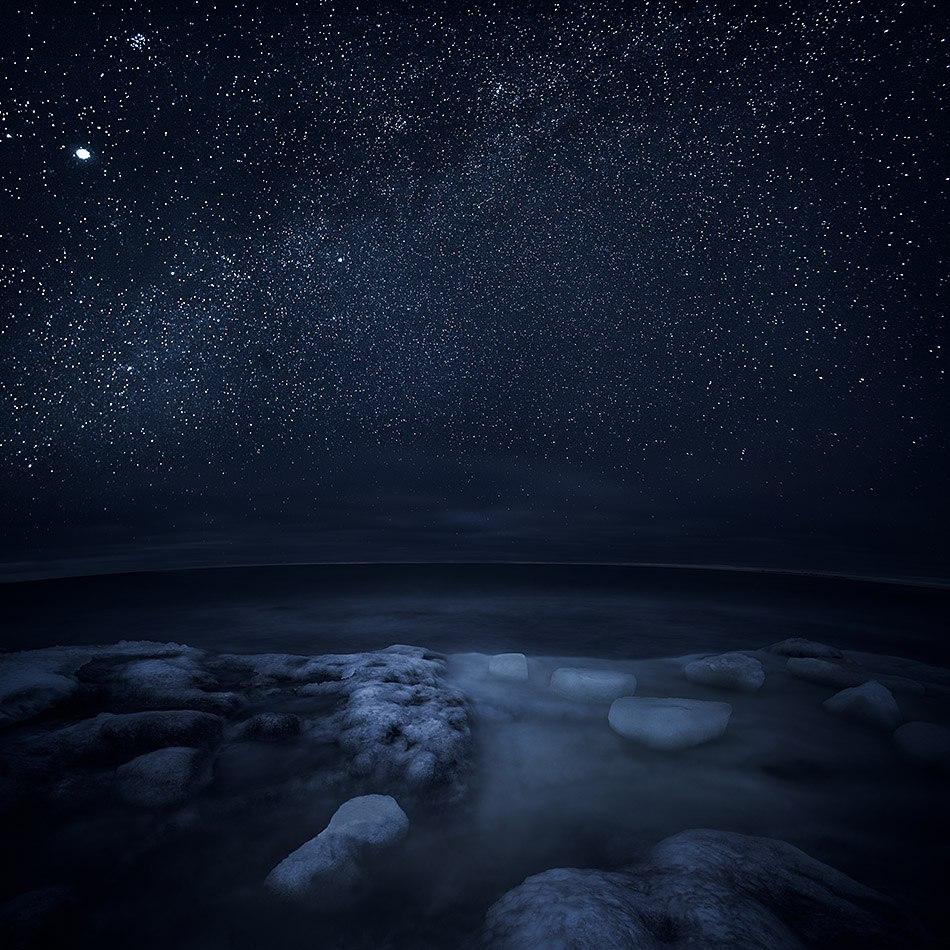 зимняя ночь фото