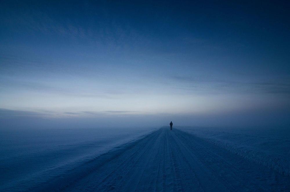 фото пейзаж зима