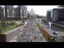 Алматы марафон-2015 с высоты птичьего полета